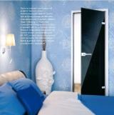 Стеклянные двери серии Emalit