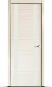 Дверь Мильяна серия ID D цвет Бьянко Белое стекло
