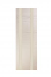 Дверь Мильяна серия ID D цвет Капучино Белое стекло
