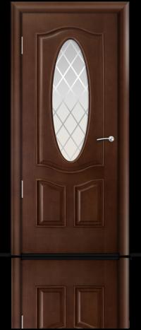 Дверь Барселона Итальянский орех Готика