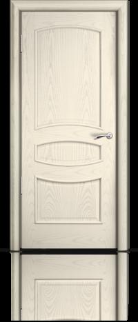Дверь Венеция Ясень жемчуг глухое