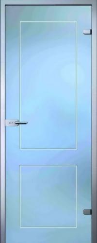 Стеклянная дверь Клавдия