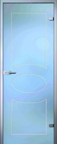 Стеклянная дверь Кабзон