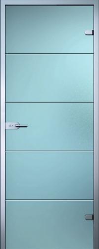 Стеклянная дверь Диана