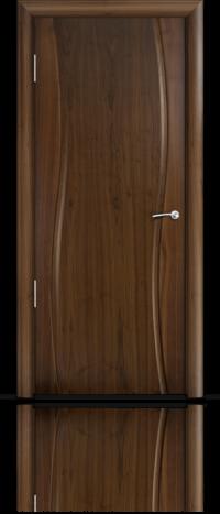 Дверь Мильяна Омега Американский орех глухая