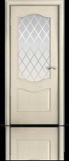 Дверь Марсель Ясень жемчуг стекло Готика