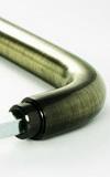 Ручка для стеклянной двери ID 201 Бронза