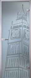 Стеклянная дверь Тауэр