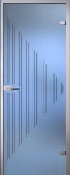 Стеклянная дверь Ребекка