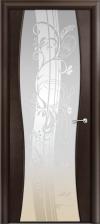 Дверь Омега 1 со стеклом триплекс