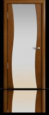 Дверь Мильяна Омега  Анегри Белое стекло