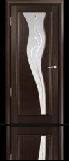 Дверь Мильяна серия Стелла модель Лантана Венге модельное стекло