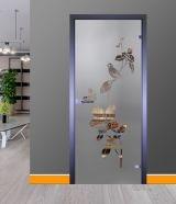 Стеклянные двери серии Mirra