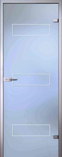 Стеклянная дверь Карина АКМА