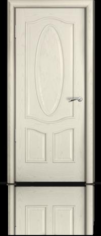 Дверь Барселона Ясень жемчуг глухое