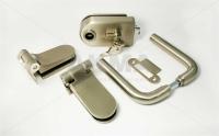 Комплект фурнитуры B-R (GT) для стеклянной двери Нержавеющая сталь