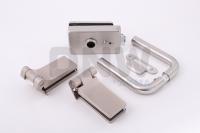 Комплект фурнитуры F (GT) для стеклянной двери Нержавеющая сталь