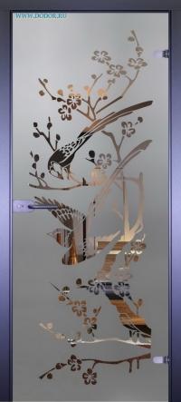 Стеклянная дверь Мирра 0002
