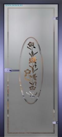 Стеклянная дверь Мирра 0006