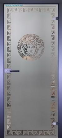 Стеклянная дверь Мирра0055