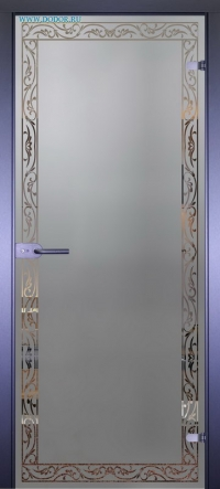 Стеклянная дверь Мирра 0059