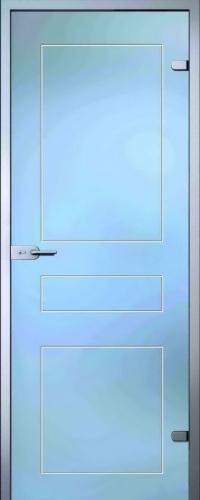 Стеклянная дверь Кира АКМА