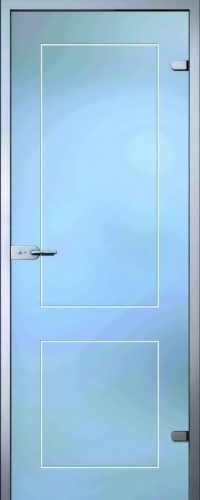 Стеклянная дверь Клавдия АКМА