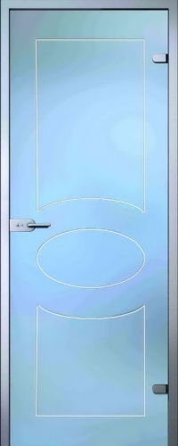 Стеклянная дверь Кабзон АКМА