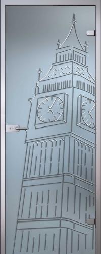Стеклянная дверь Тауэр АКМА