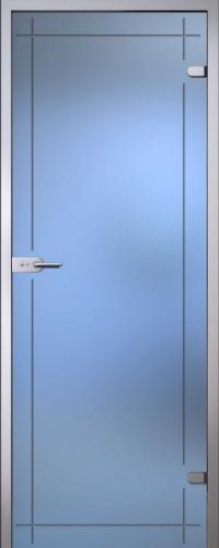 Стеклянная дверь Изабелла АКМА