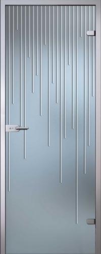 Стеклянная дверь Юлиана АКМА