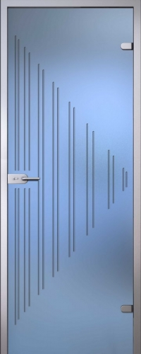 Стеклянная дверь Ребекка АКМА