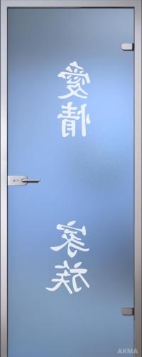 Стеклянная дверь Фуджи