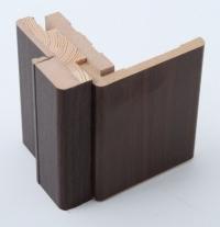 Коробка МДФ венге для стеклянной двери АКМА (не выпускается)