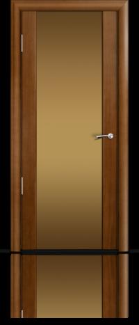 Дверь Мильяна Омега 2 Анегри Бронзовое стекло