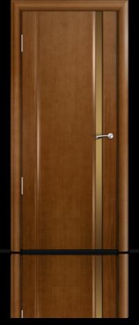 Дверь Мильяна Омега 2 Анегри Бронзовое узкое стекло