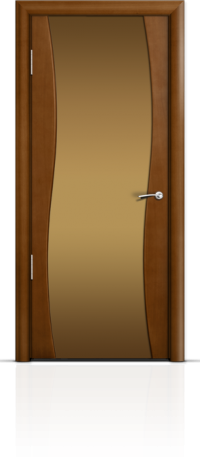 Дверь Мильяна Омега Анегри Бронзовое стекло