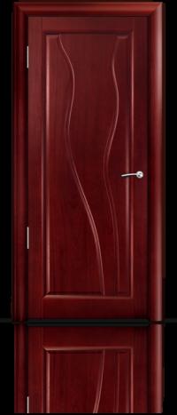 Дверь Мильяна серия Стелла модель Ирэн Красное дерево глухое