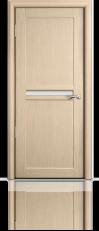 Дверь Мильяна серия Стелла модель Натель Беленый дуб глухое
