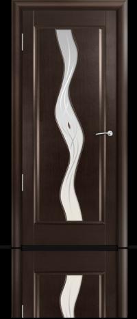 Дверь Мильяна серия Стелла модель Веста Венге модельное стекло