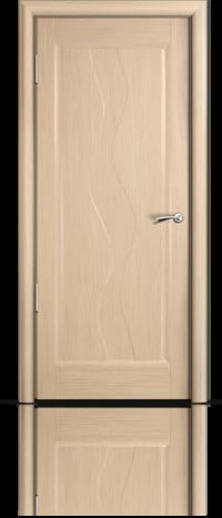 Дверь Мильяна серия Стелла модель Веста Беленый дуб глухое