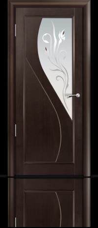 Дверь Мильяна серия Стелла модель Яна Венге модельное стекло