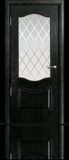 Дверь Марсель Ясень винтаж стекло Готика