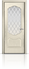 Дверь Милан Ясень жемчуг Готика
