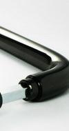 Ручка для стеклянной двери ID 201 Черный никель