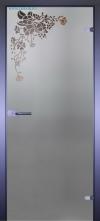 Стеклянная дверь Мирра 0022
