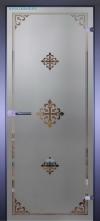 Стеклянная дверь Мирра 0084