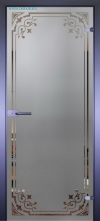 Стеклянная дверь Мирра 0091