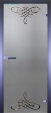 Стеклянная дверь Мирра 0105