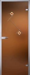 Стеклянная дверь Бьянка